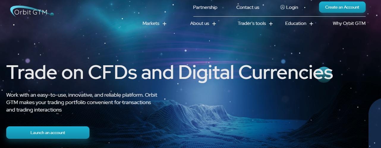 OrbitGTM website